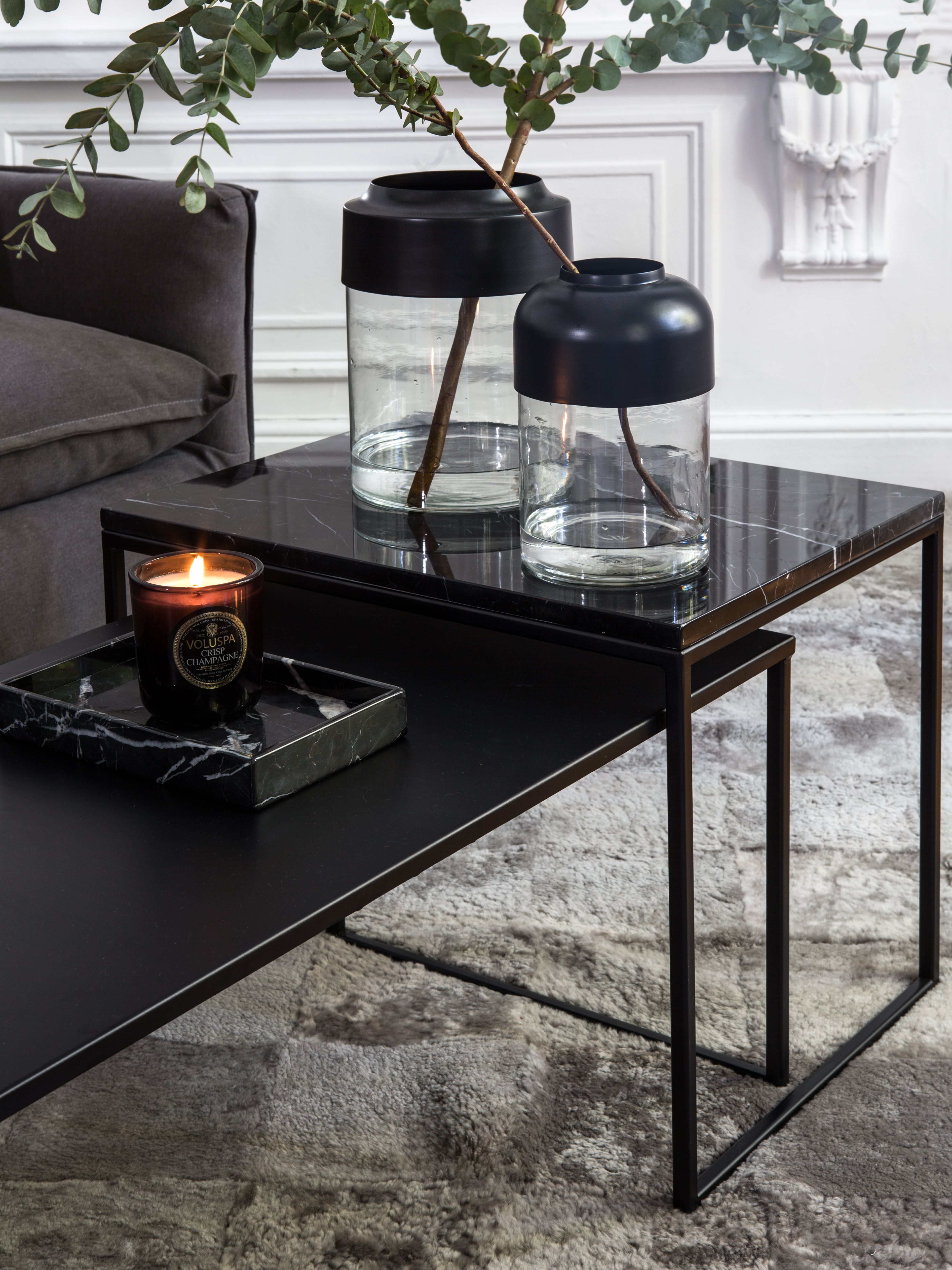 Marble Coffee Table Ft Prairie Flint Yerra Rug Black Marble Coffee Table Marble Coffee Table Coffee Table [ 4944 x 3708 Pixel ]