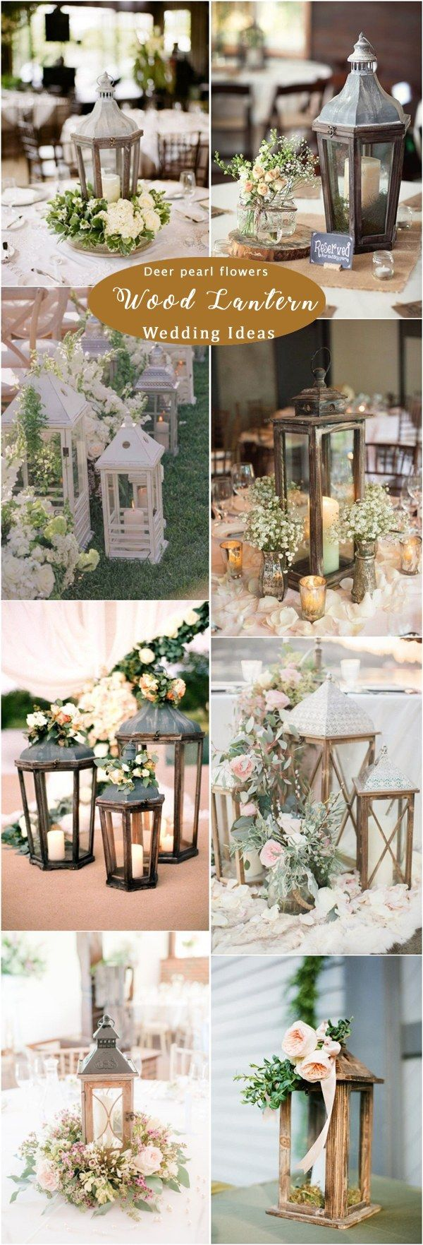 Wedding ideas with lanterns   Rustic Woodsy Wedding Decor Ideas for   Woodsy wedding