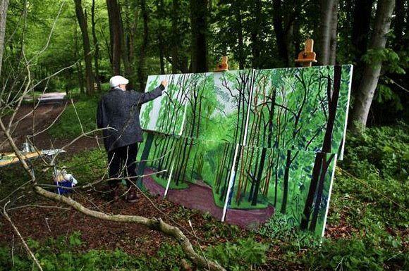 David Hockney in East Yorkshire
