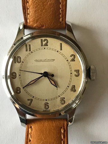 7fcd35493fd Jaeger-LeCoultre ad: £996 Jaeger-LeCoultre Military ca 1940 P478 Manual  winding; Condition 1 (mint); Year 1940; Location: France