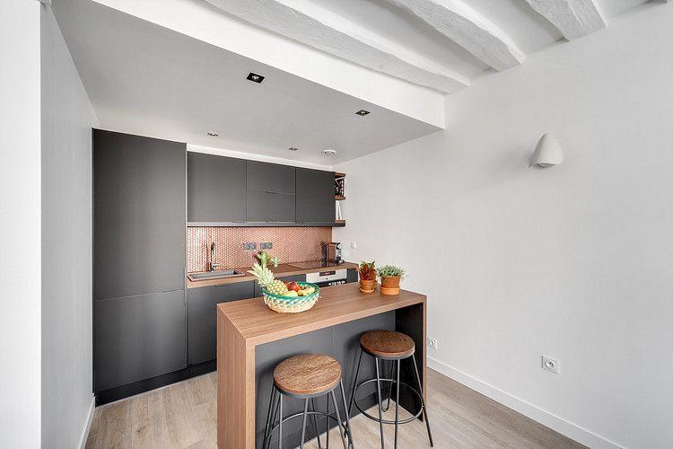am nagement petit espace 5 astuces d 39 architectes pour l 39 optimiser kitchen pinterest home. Black Bedroom Furniture Sets. Home Design Ideas