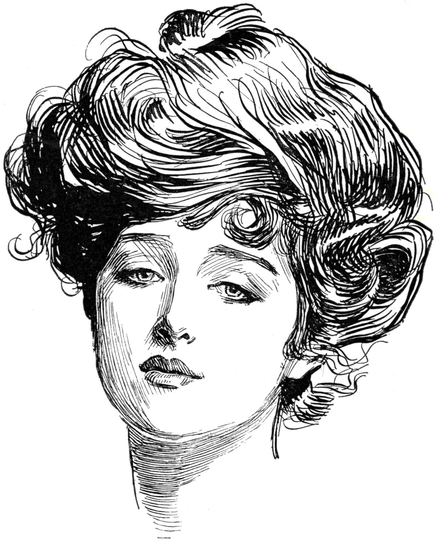 Pin by Ginna Martinez on Vintage printables Hair humor