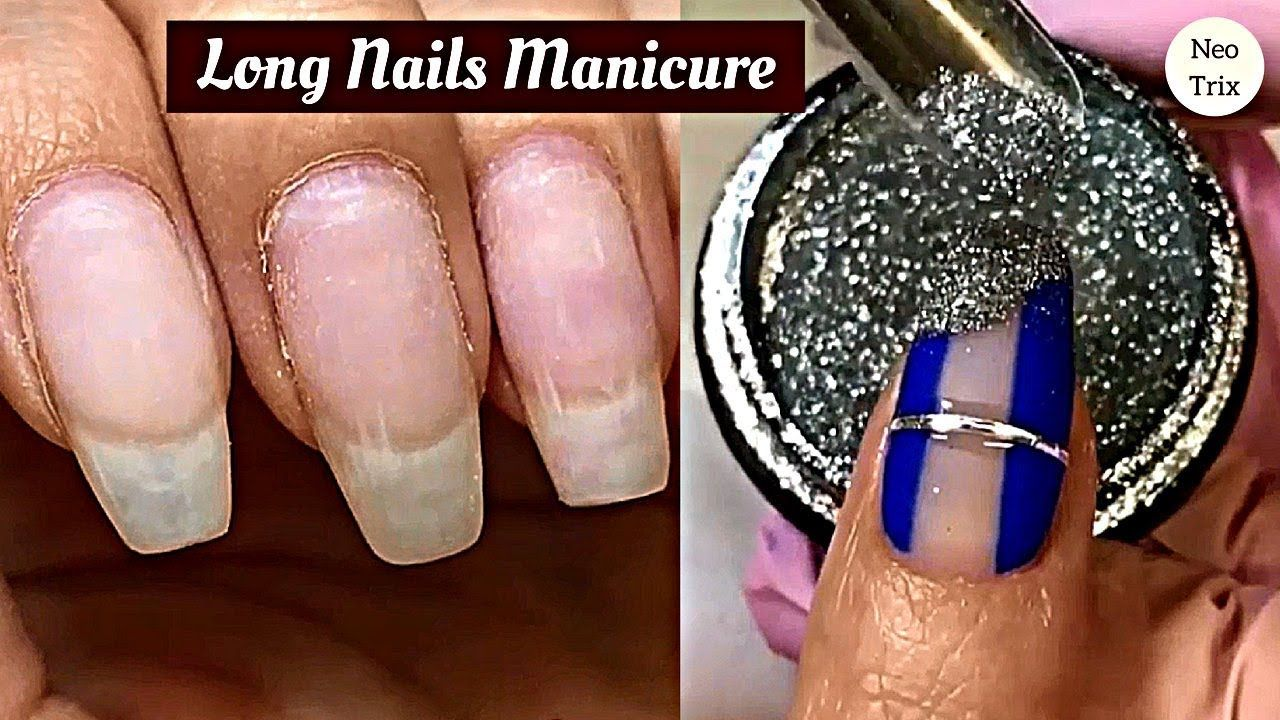 How To Apply Loose Glitter On Long Nails Glitter Nails