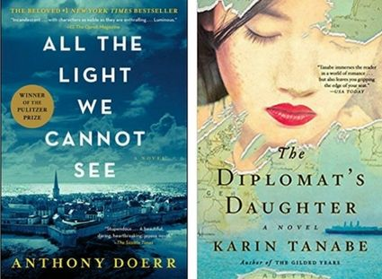 Looking for book club books for women? If you loved All the Light We Cannot See by Anthony Doerr, check out The Diplomat's Daughter by Karin Tanabe.