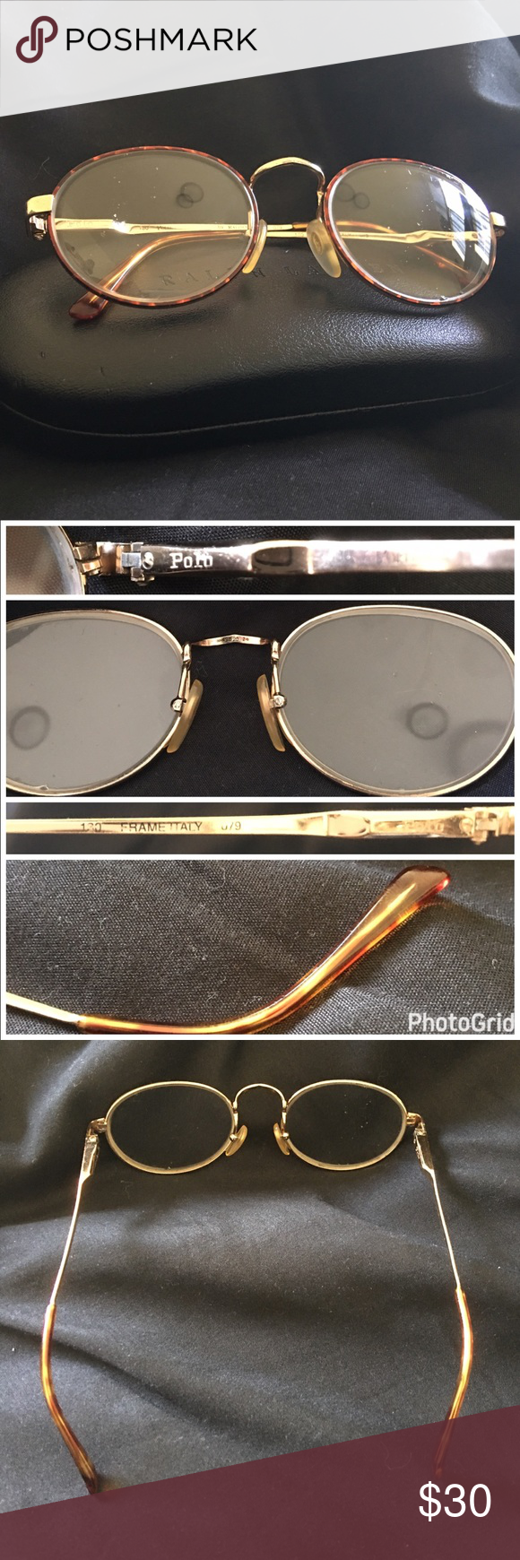 7473ae37efec6 Polo frames by Ralph Lauren Polo eyeglass frames  Previous prescription  glasses  Frame is great for sunglasses too! Normal wear.
