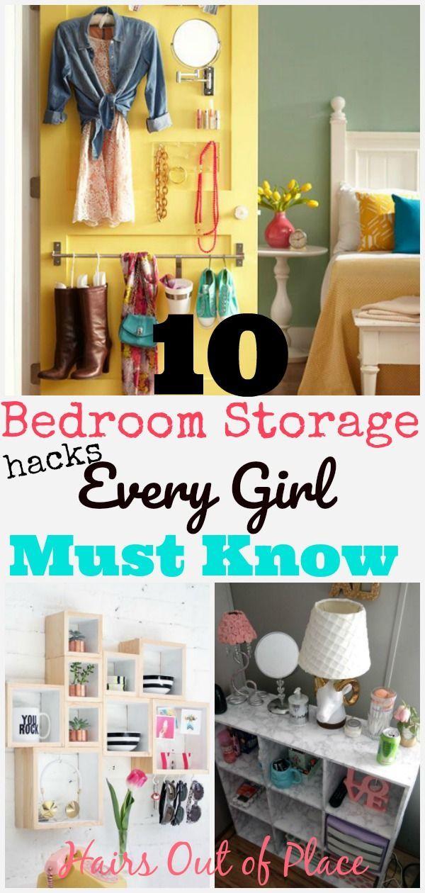 10 Bedroom Organization Hacks That Ll Keep Your Small Space Tidy Small Bedroom Organization Bedroom Organization Diy Small Bedroom Decor