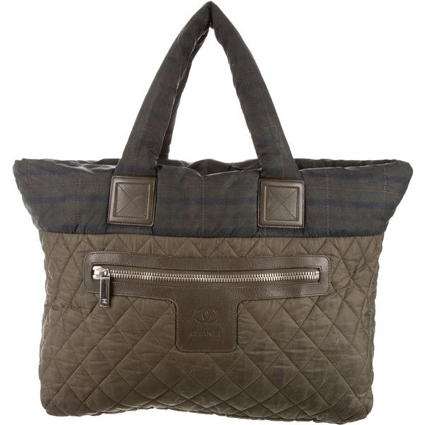 4ea11f57a152 Pre-owned Chanel Coco Cocoon Tote ( 975) ❤ liked on Polyvore featuring bags