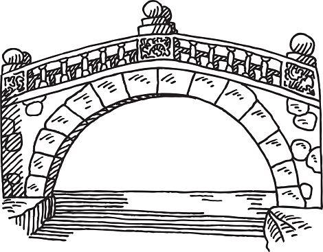 графические картинки каменных мостов остальные движения