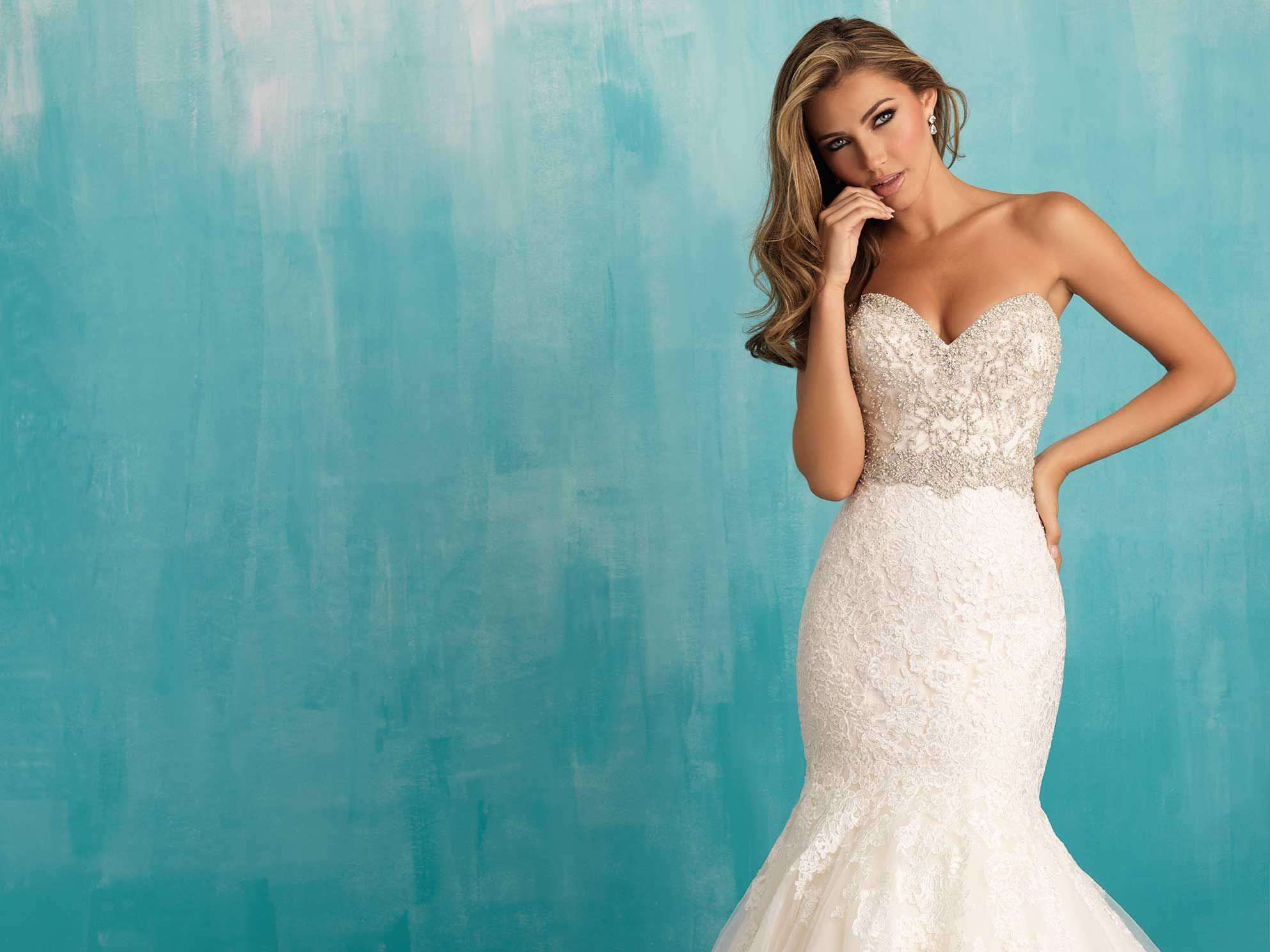 Allure Bridals: Style: 9305   A L L U R E BRIDALS   Pinterest ...