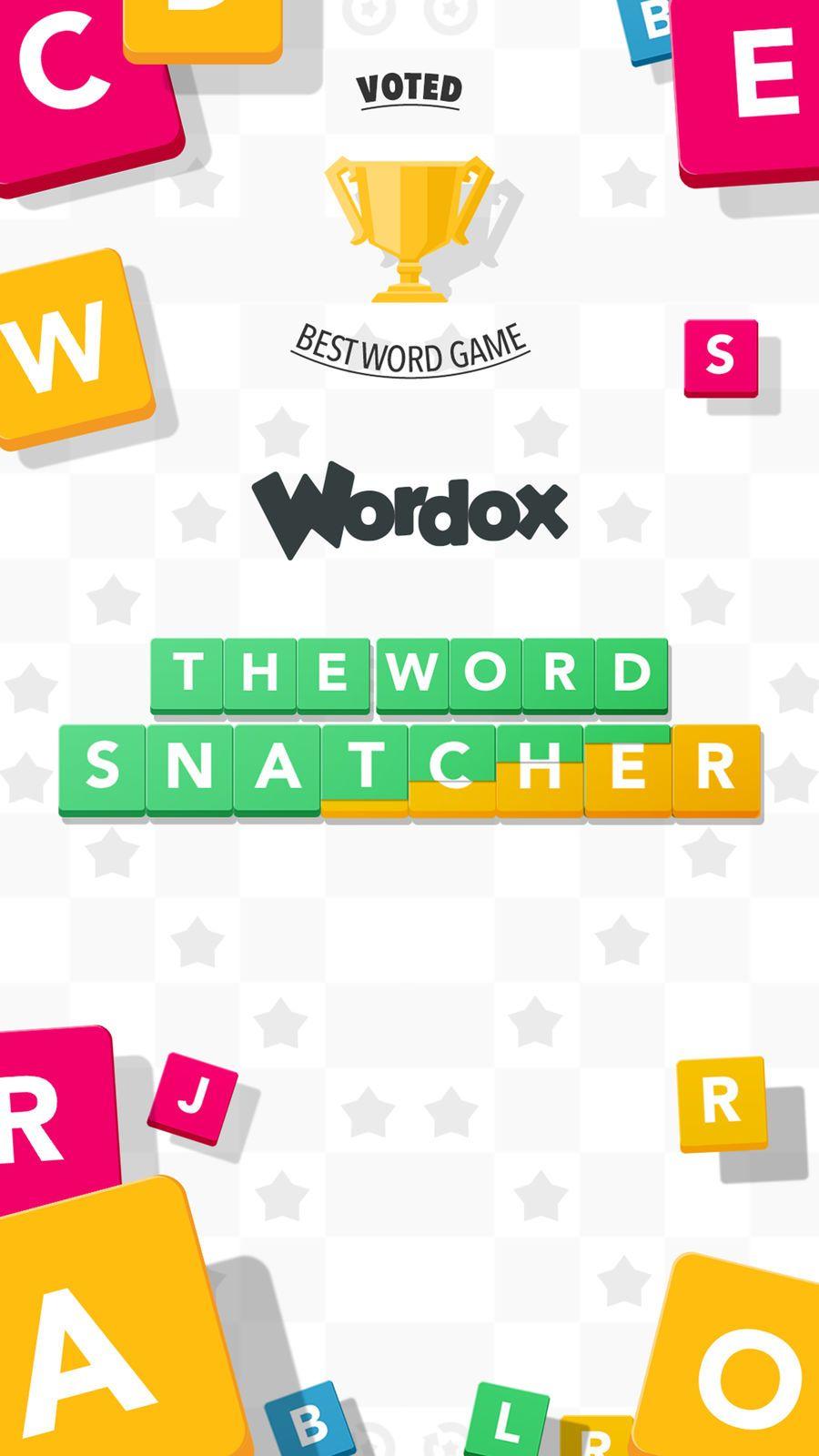 Wordox Multiplayer word game GamesEntertainmentBoard