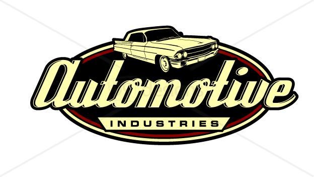 auto industries ready made logo designs 99designs aad shirt rh pinterest com muscle car logo vector
