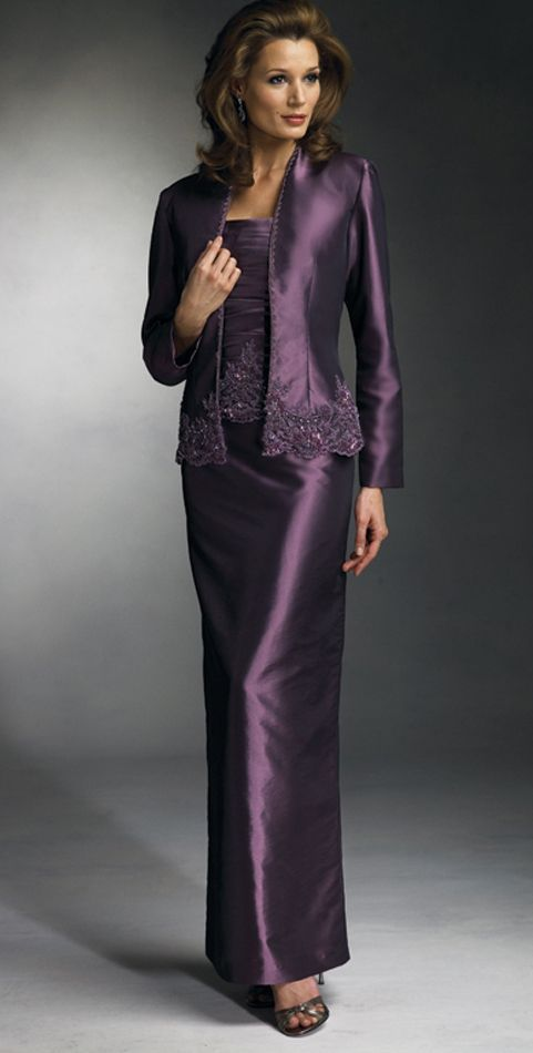 mother of groom dresses long | CS Town 02412 Mother of the Bride ...