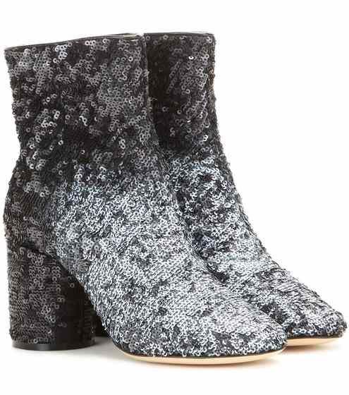 Sequinned ankle boot | Maison Margiela