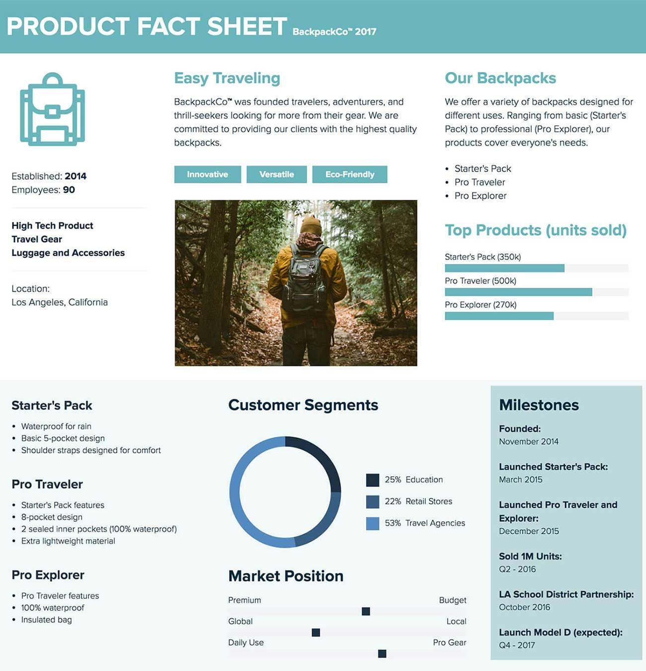 Fact Sheet Template And Examples Fact Sheet Card Template