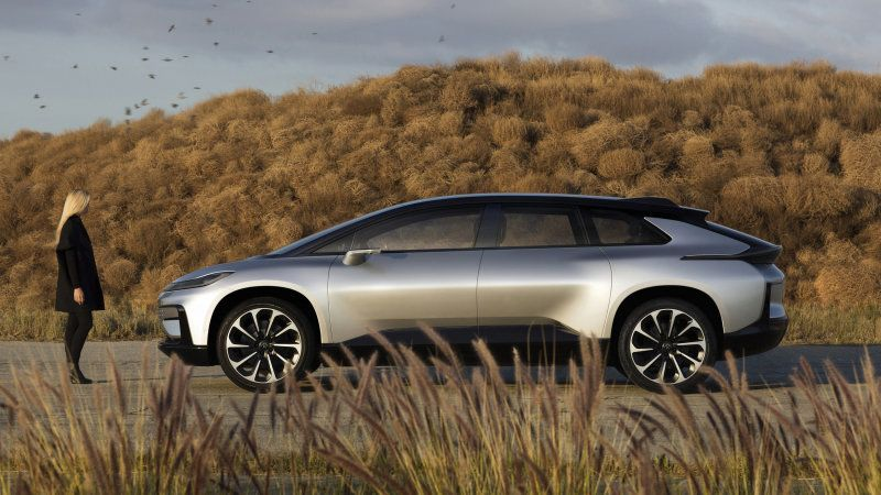 2020 Faraday Future Prototype First Drive At Ces 2020 In 2020 Faraday Future Electric Cars Future Car