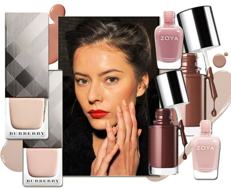Nude Nails for Holiday 2013 Zoya, Burberry, Clinique #beauty #nude ...