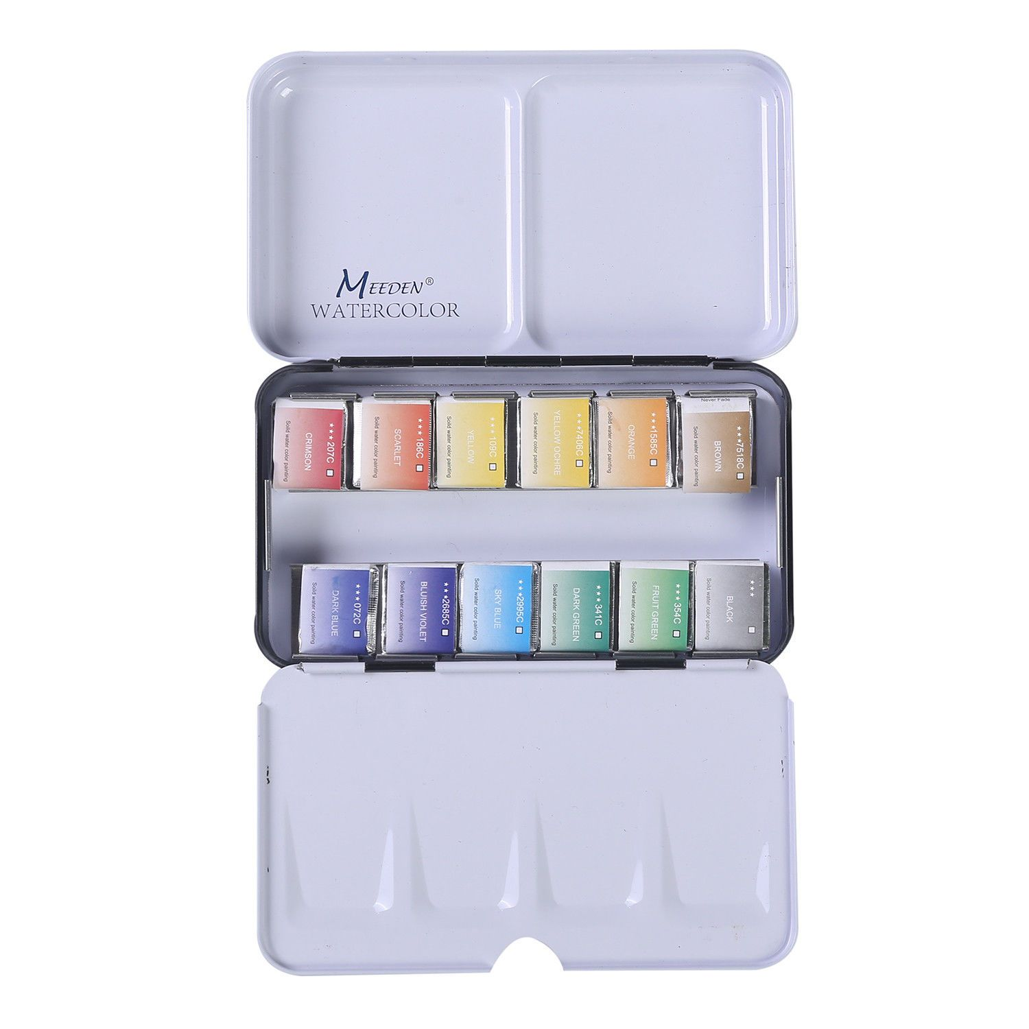 Details About Watercolor Paint Set Art Watercolor Tin Palette With