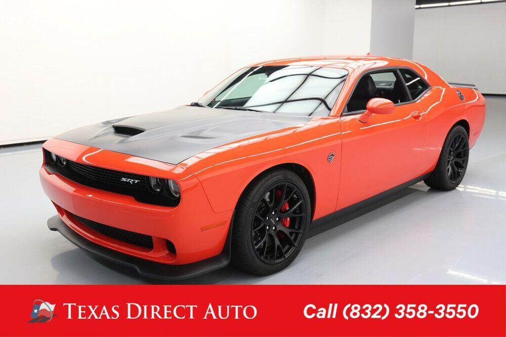 dodge hellcat for sale texas For Sale: 2016 Dodge Challenger SRT Hellcat Texas Direct