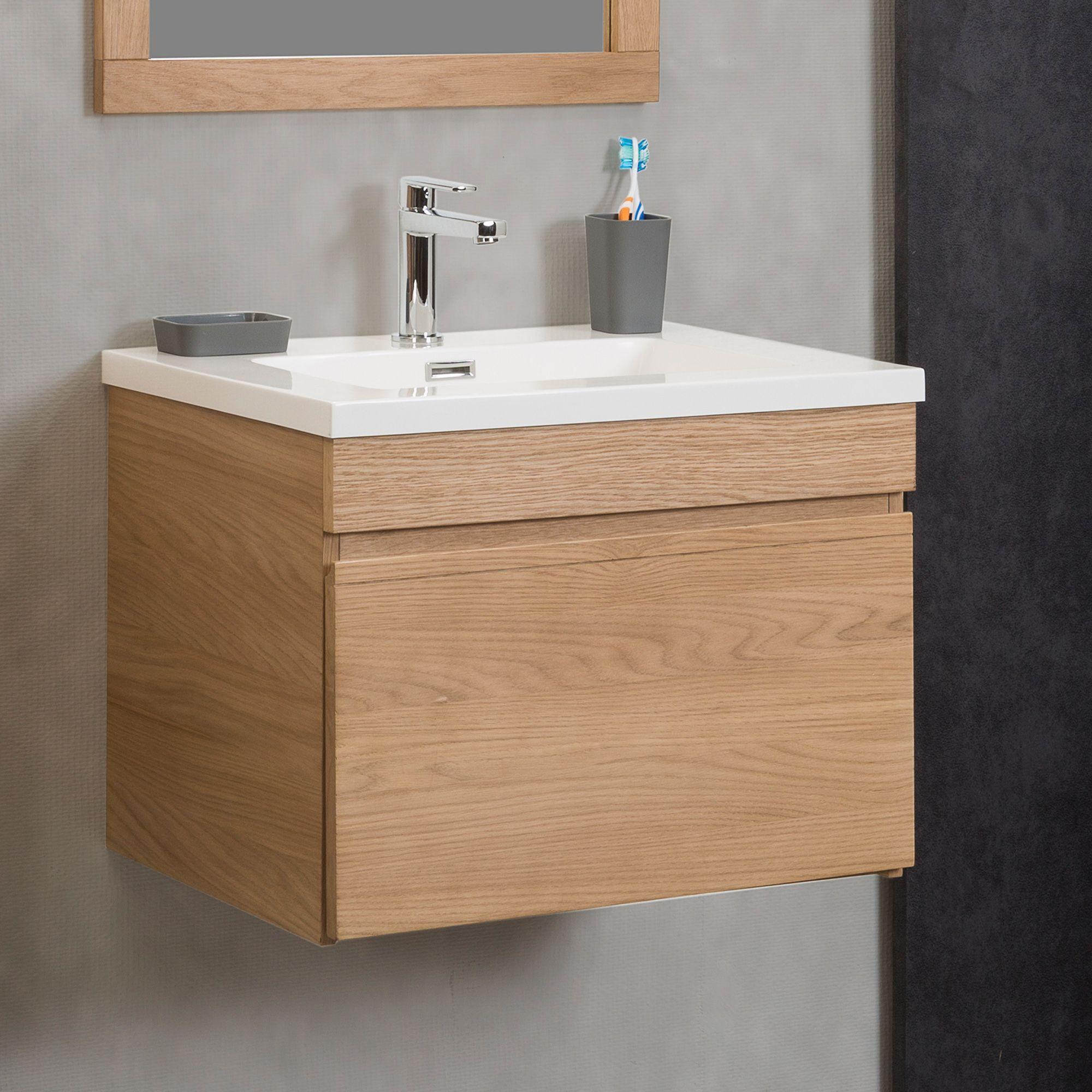 Meuble sous vasque simple 60cm Acme Les meubles sous vasques