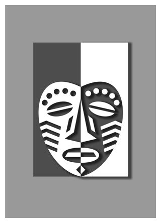 Symmetry In Design african mask design lesson - decorating the face 2 | art | lesson