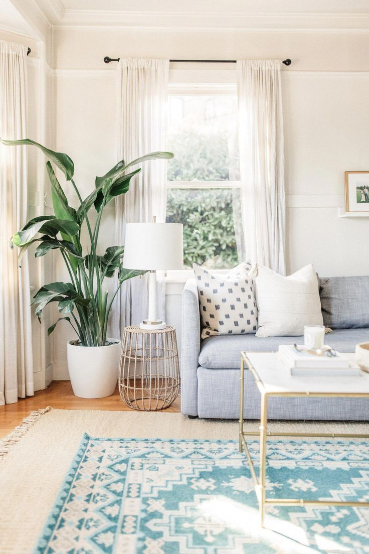 Blue And White Living Room Layered Rugs Gold And White Modern Coffee Table Light Blue Sof Home Living Room Living Room Color Schemes Living Room Decor