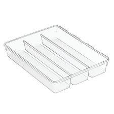 Interdesign Kitchen Drawer Flatware Utensils Cutlery Tray