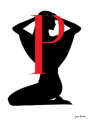 Silhouette Alphabet P Alphabet \ Numbers for Crafts Pinterest - p&l template