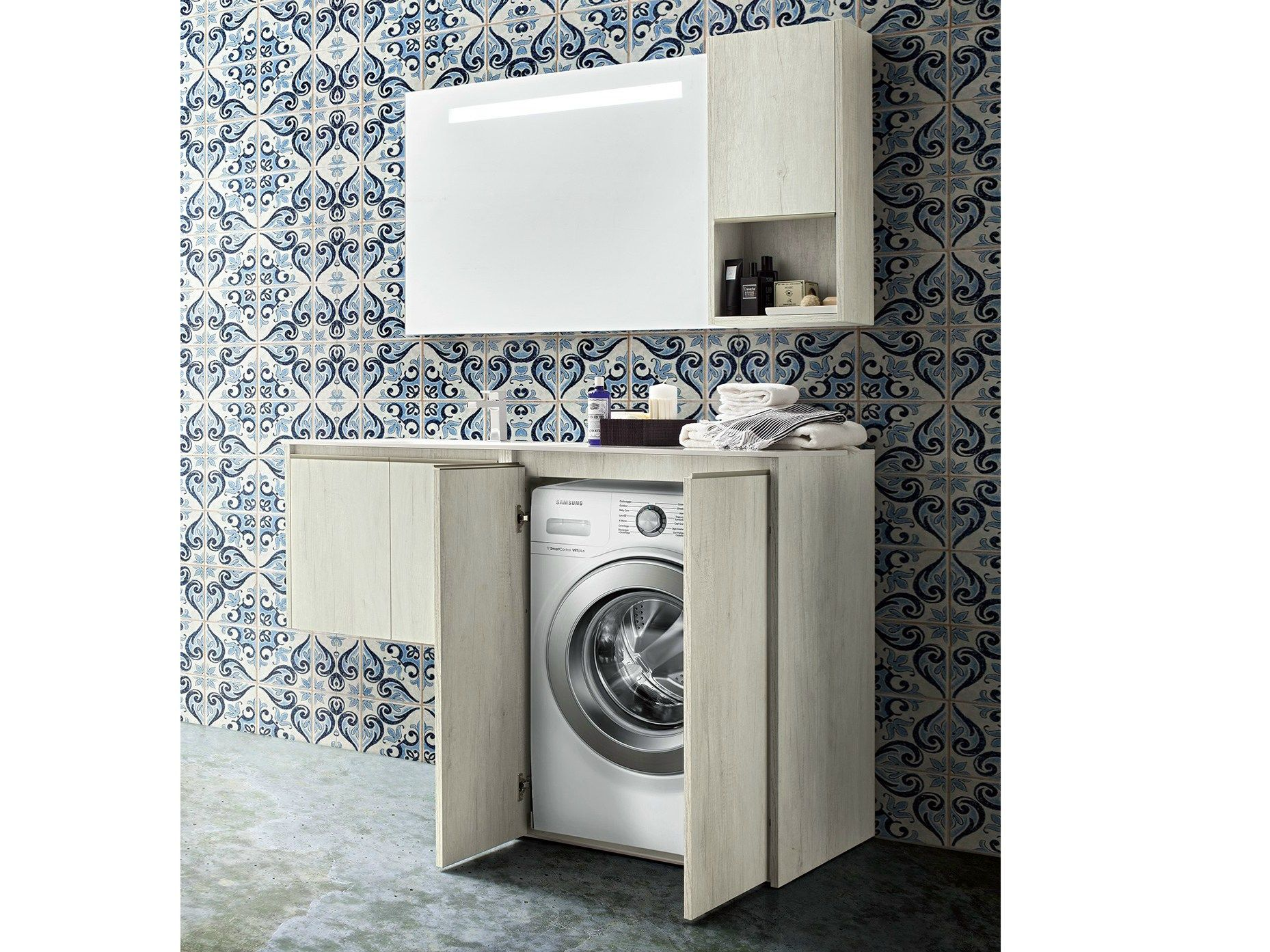 Meuble Pour Salle De Bain Composable Movida 38 41 Collection Movida By Cerasa Design Stefano Spessotto Lorella Laundry Room Cabinets Cleaning Household Home