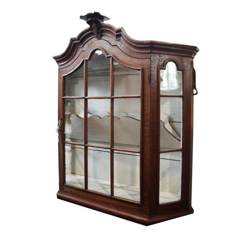 Antique Dutch Hanging China Cabinet | China cabinets, Furniture ...