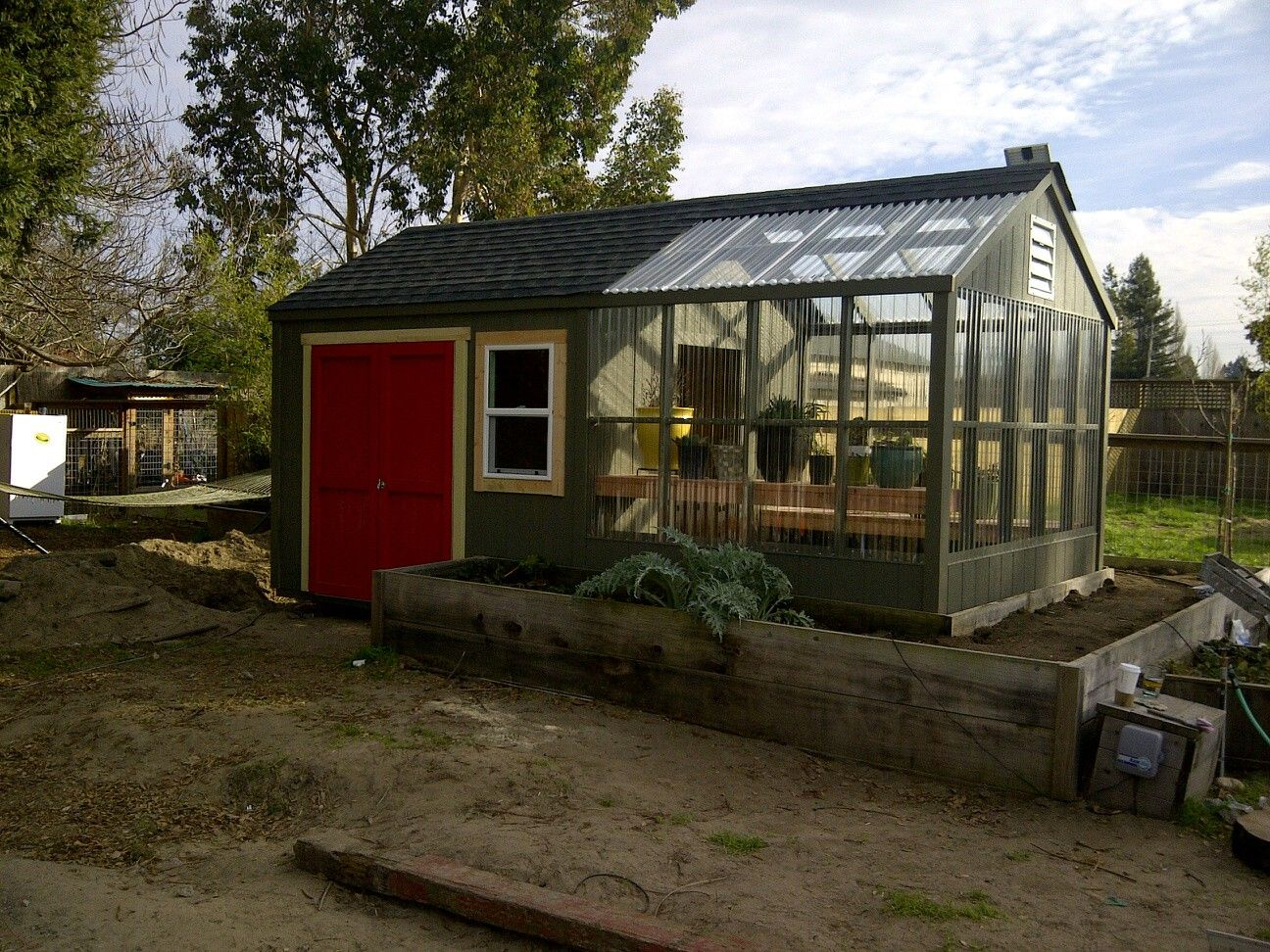 sonic sheds greenhouse page wwwsonicshedscom - Garden Sheds With Greenhouse