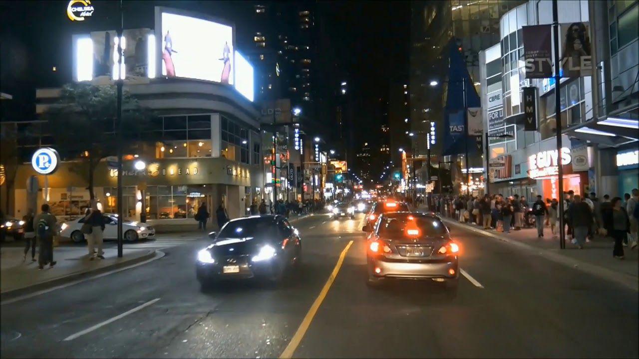 Drive In Toronto A Friday Night Toronto Night Friday Night