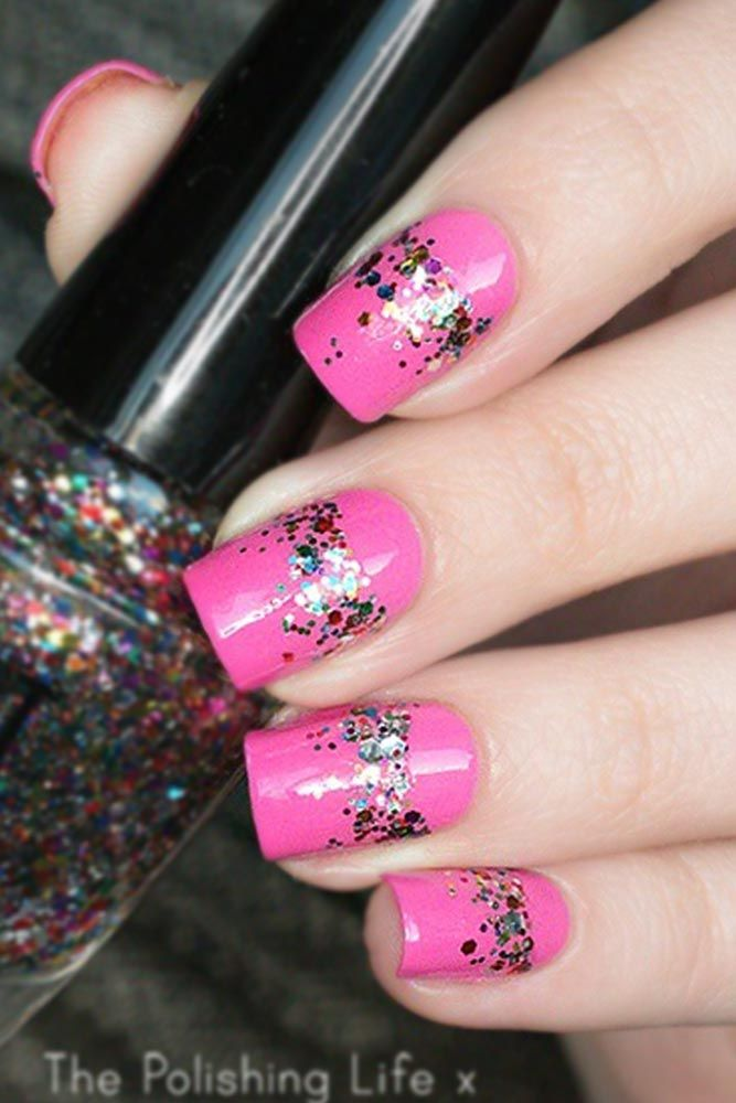 Daily Charm: Over 50 Designs for Perfect Pink Nails | Perfect pink ...