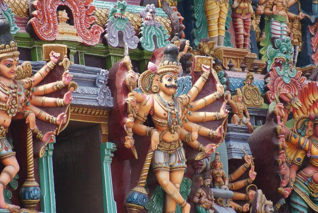 Meenakshi Amã - O templo do exagero   Mundo Gump