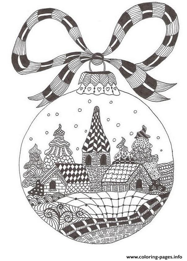 Print Christmas Adult December Coloring Pages Coloring Pages Adult
