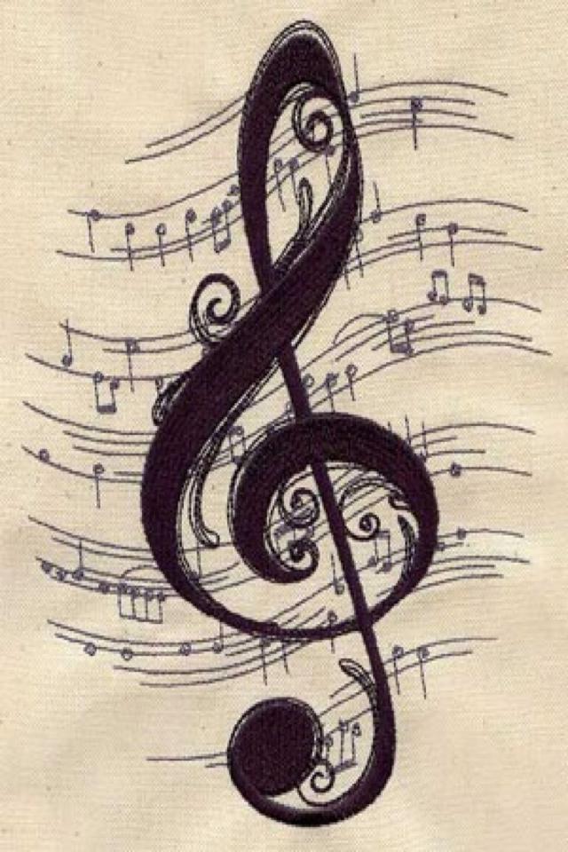 Fond D Ecran Dessin Musique Tatouage Musique Fond D Ecran Musique