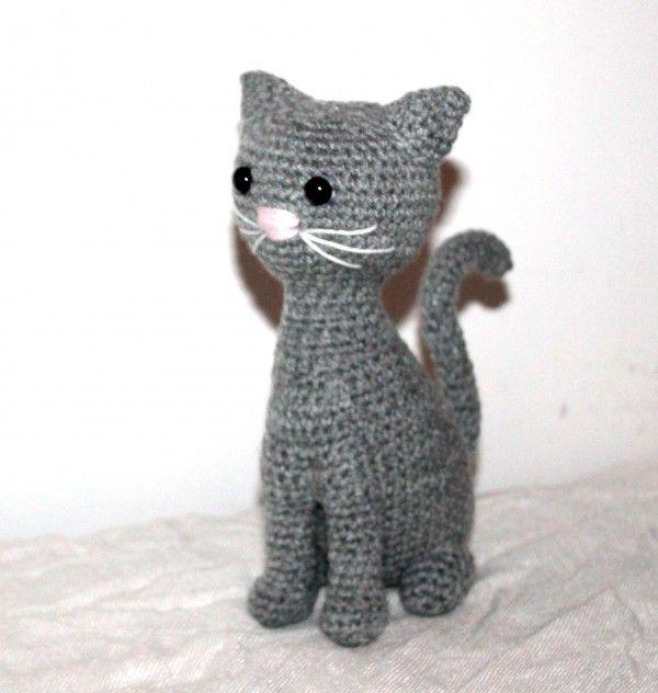 Katze häkeln // Tiere häkeln // Amigurumi DIY | Tiere häkeln ...