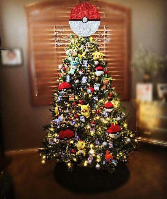 Pin de nalle en navidad navidad pokemon decoracion - Decoracion de navidad para ninos ...