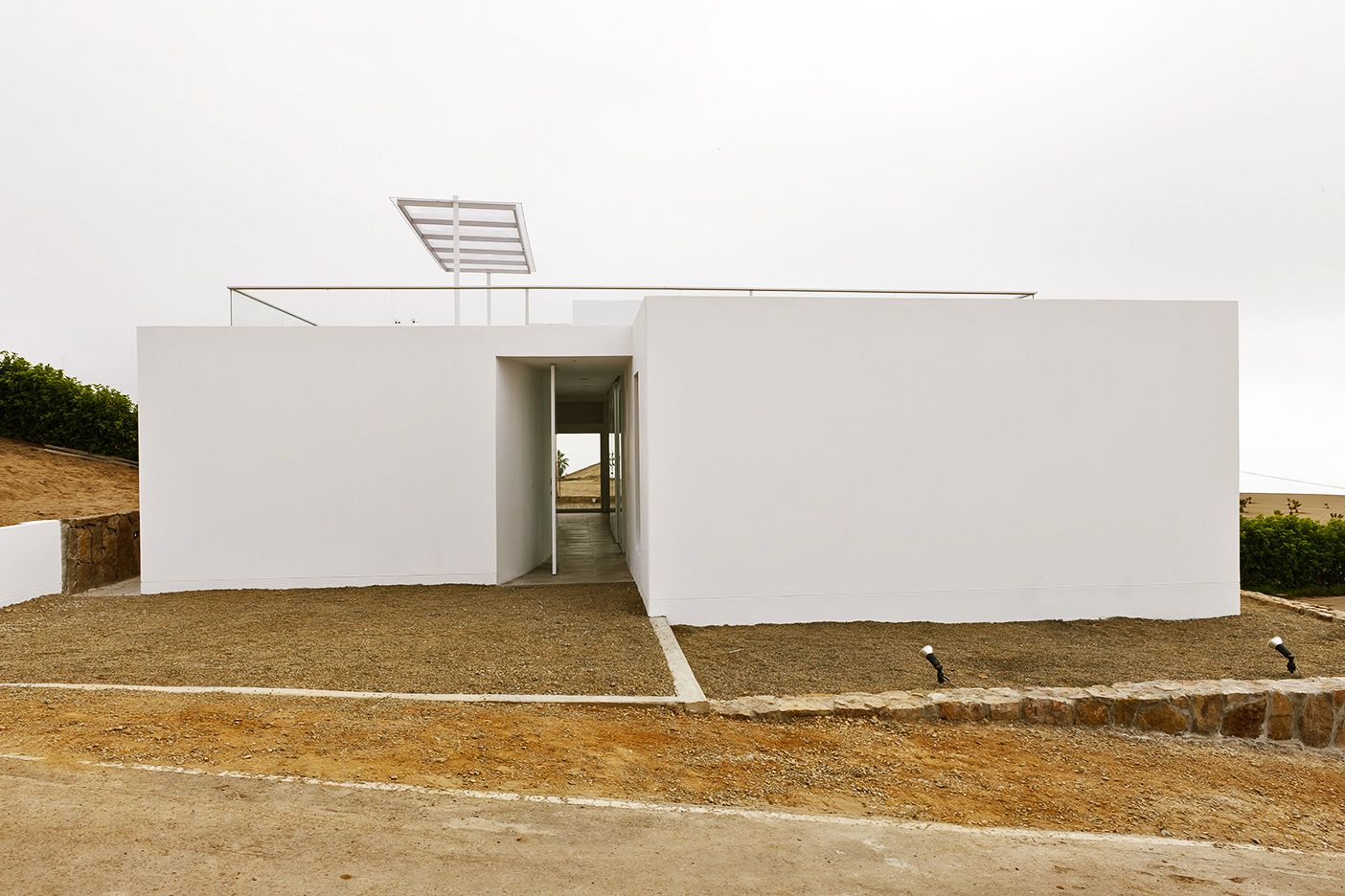 llatas #architecture #architects #design #white #Peru #Andenes ...
