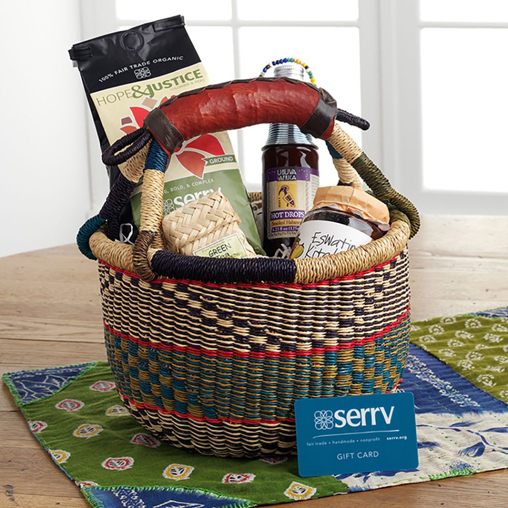 Global Sampler Gift Basket Basket, Gift baskets, Coffee