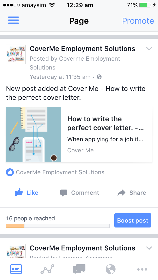 New Post Added At Cover Me  How To Write The Perfect Cover Letter