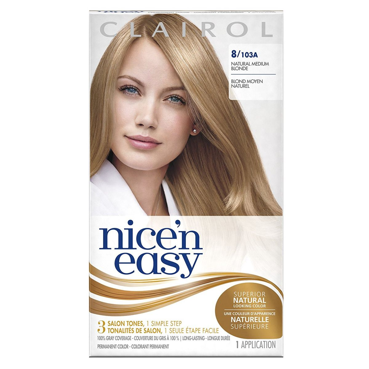 Medium Natural Blonde Hair Color Best Way To Color Your Hair At