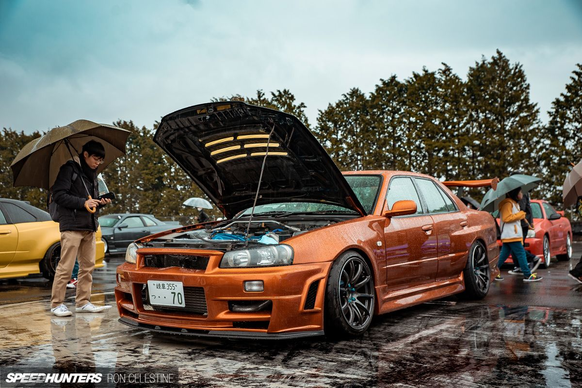 Finding FourDoor Inspiration At The R34 Meet (With images