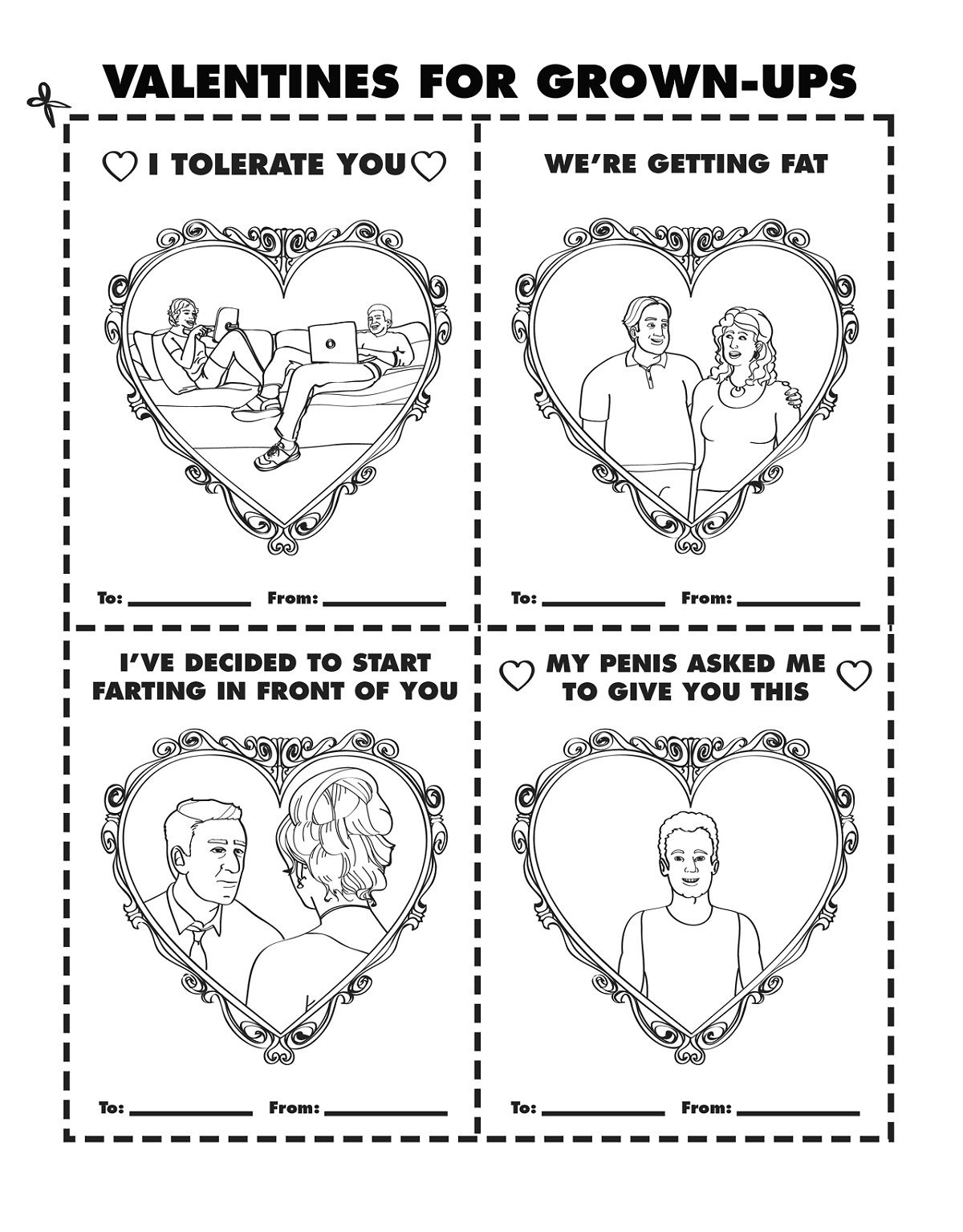 Valentine Coloring Books For Grown Ups Educative Printable
