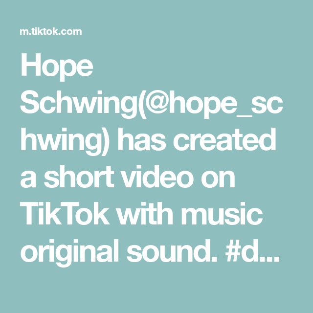 Hope Schwing Hope Schwing Has Created A Short Video On Tiktok With Music Original Sound Duet With Hope Schwin Music Mood The Originals Funny Minion Quotes