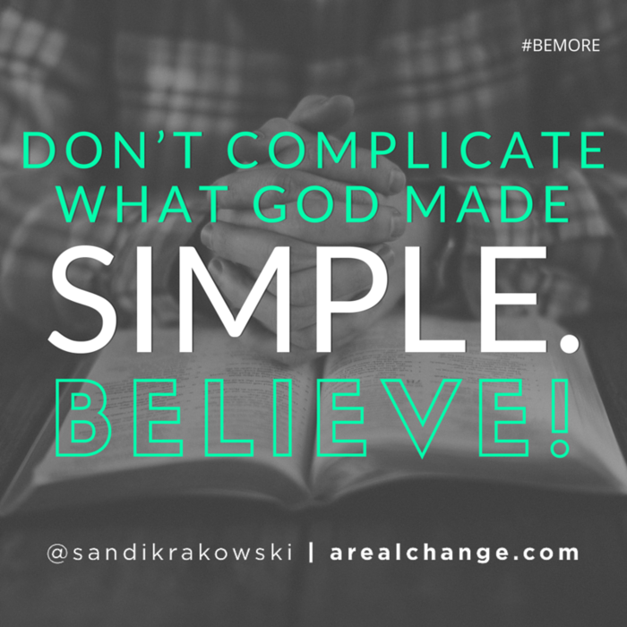This is a word for some of you as you go to bed tonight. #BEMORE