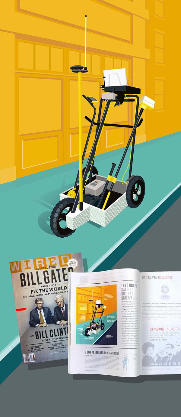Illustration WIRED Magazine by remko heemskerk, | Illustration ...