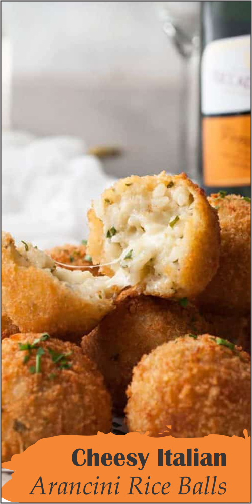 A classic Italian dish, I've made these bite size to be finger food but they are typically made larger to serve as a meal or appetiser! #fingerfoods