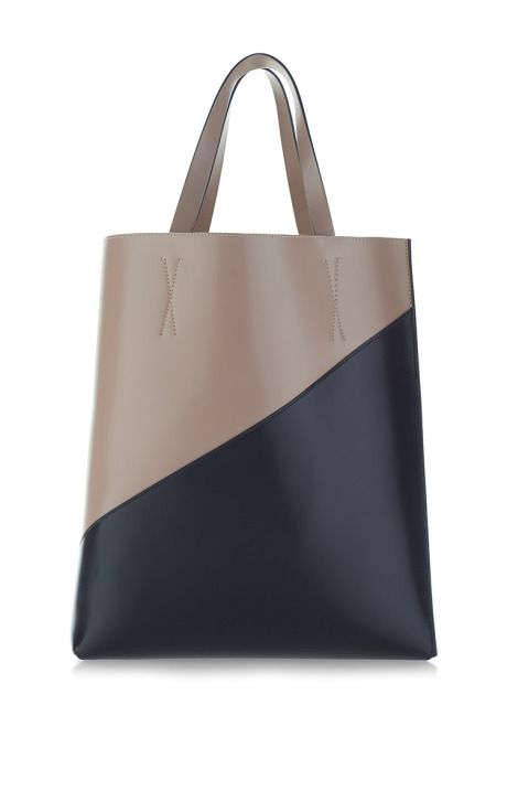 Quartz And Carbon Large Museum Shopping Tote by Marni for Preorder on Moda Operandi
