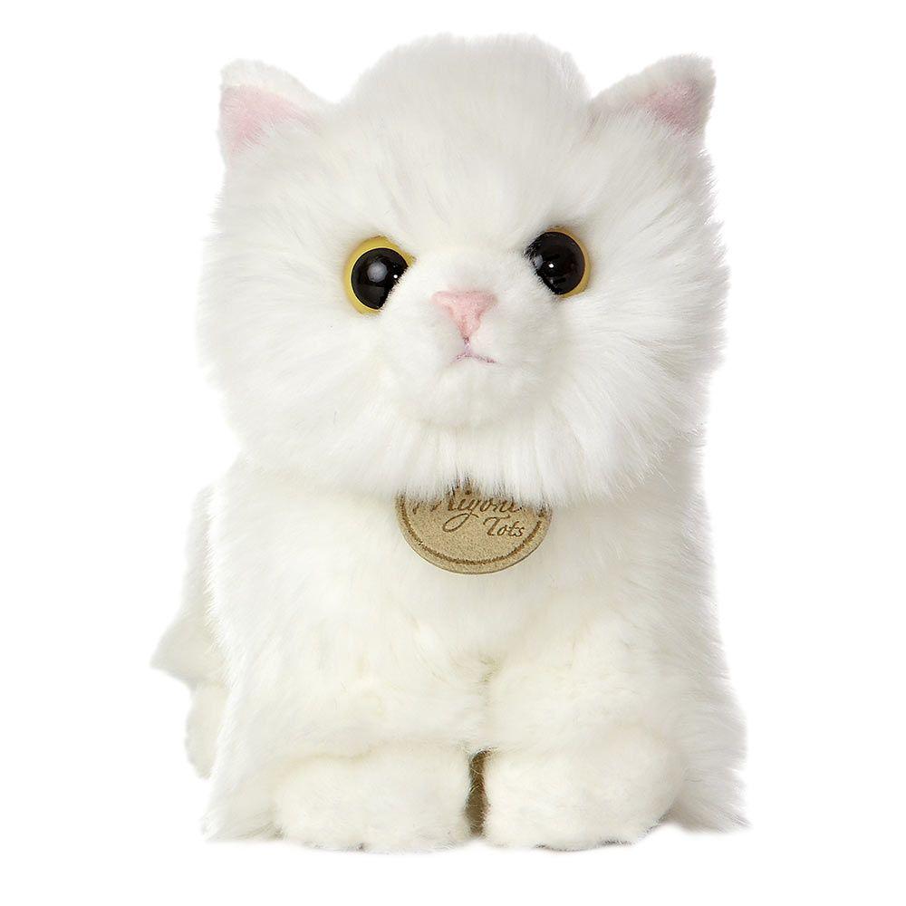 Angora Kitten Plush Kitten Plush Toy Angora Cats Plush Stuffed Animals