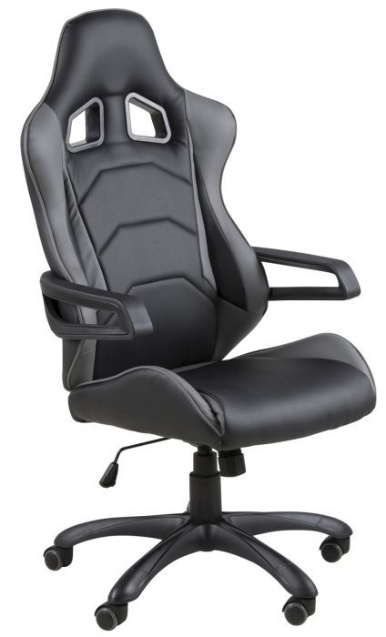 Sensational Buy Argos Home Mid Back Gaming Chair White Black Gaming Andrewgaddart Wooden Chair Designs For Living Room Andrewgaddartcom